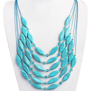 TURQOUISE LARED NECKLACE